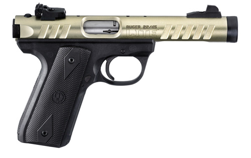 22 Pistol Silencer http://whichgun.com/blog/view/new-ruger-22-45-lite-pistol