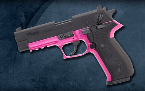 Kahr CW9 Pink Madness Edition 9mm Pistol, Matte Stainless Slide ...